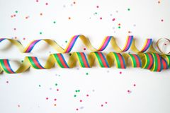 Party props. Party curly props heart shape Stock Photo