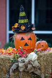 Party Pumpkin Royalty Free Stock Images