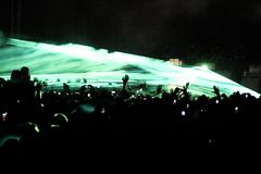 party rave Στοκ Φωτογραφία