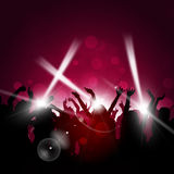 Party Red Background Royalty Free Stock Photography
