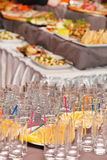 Party in the restaurant Royalty Free Stock Photography