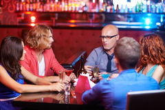 Party in restaurant Royalty Free Stock Images