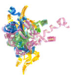 Party Ribbon Streamers Stock Images