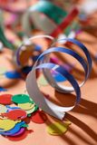 Party ribbons Stock Image