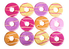 Party ring biscuits Stock Photos