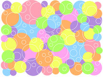 Party rings. Colorful party rings Royalty Free Stock Image