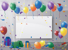 Party room Royalty Free Stock Images
