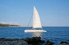 Party sailboat Stock Photography