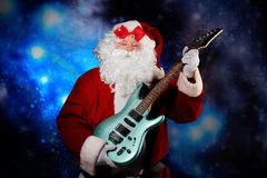 Party with Santa royalty free stock photography