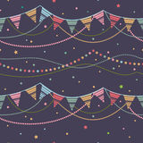 Party seamless background. Royalty Free Stock Photos