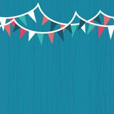 Party seamless background in vector Stock Photo