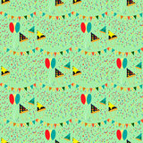 Party seamless pattern Royalty Free Stock Photo