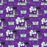 Party seamless pattern Royalty Free Stock Images