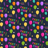 Party seamless pattern Stock Images