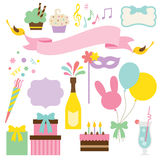 Party Set vector illustration