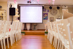 Party setting Stock Photo