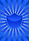 Party shield. There is Party shield emblem Royalty Free Stock Images