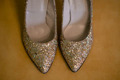 Party shoes Royalty Free Stock Images