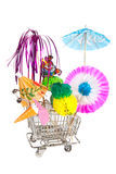 Party shopping Royalty Free Stock Photography