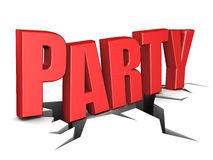 Party sign Stock Images