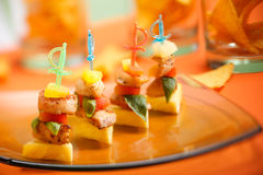 Party snack royalty free stock image