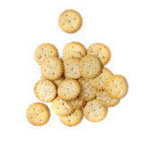Party snack crackers Royalty Free Stock Photo