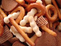 Party snack mix Royalty Free Stock Images