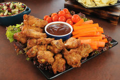 Party snack platter Stock Photo