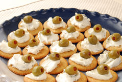 Party Snack Tray Stock Image