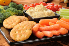 Party snack tray Royalty Free Stock Images