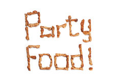 Party snacks Royalty Free Stock Images