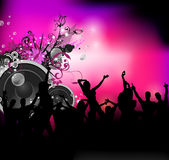 Party sound background Stock Photo