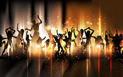 Party sound background Illustration Royalty Free Stock Photography