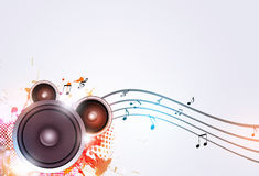 Party Sound Speaker Music Background Stock Photos