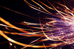 Party sparkler close up Royalty Free Stock Photo