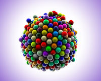 Party Spheres Royalty Free Stock Photo