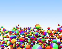 Party Spheres stock illustration