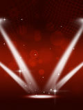 Party Spotlights Music Background Royalty Free Stock Photos