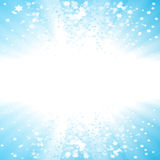 Party stars copy space background Royalty Free Stock Photography