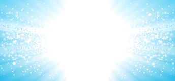 Party stars copy space banner Royalty Free Stock Photo
