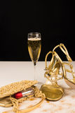 Party still life with champagne Stock Image