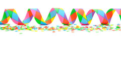 Party streamer background Royalty Free Stock Photo