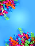 Party Streamer Celebration Background Royalty Free Stock Photo