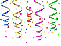 Party streamers Royalty Free Stock Photos