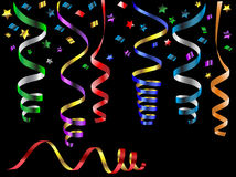 Party streamers Royalty Free Stock Photography