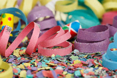 Party streamers Royalty Free Stock Image