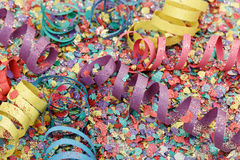 Party streamers Royalty Free Stock Photo
