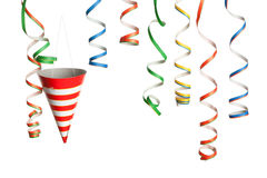 Party - Streamers and Hats Royalty Free Stock Photo