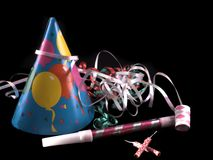 Party stuff Stock Photography