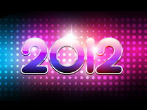 Party style new year Stock Image